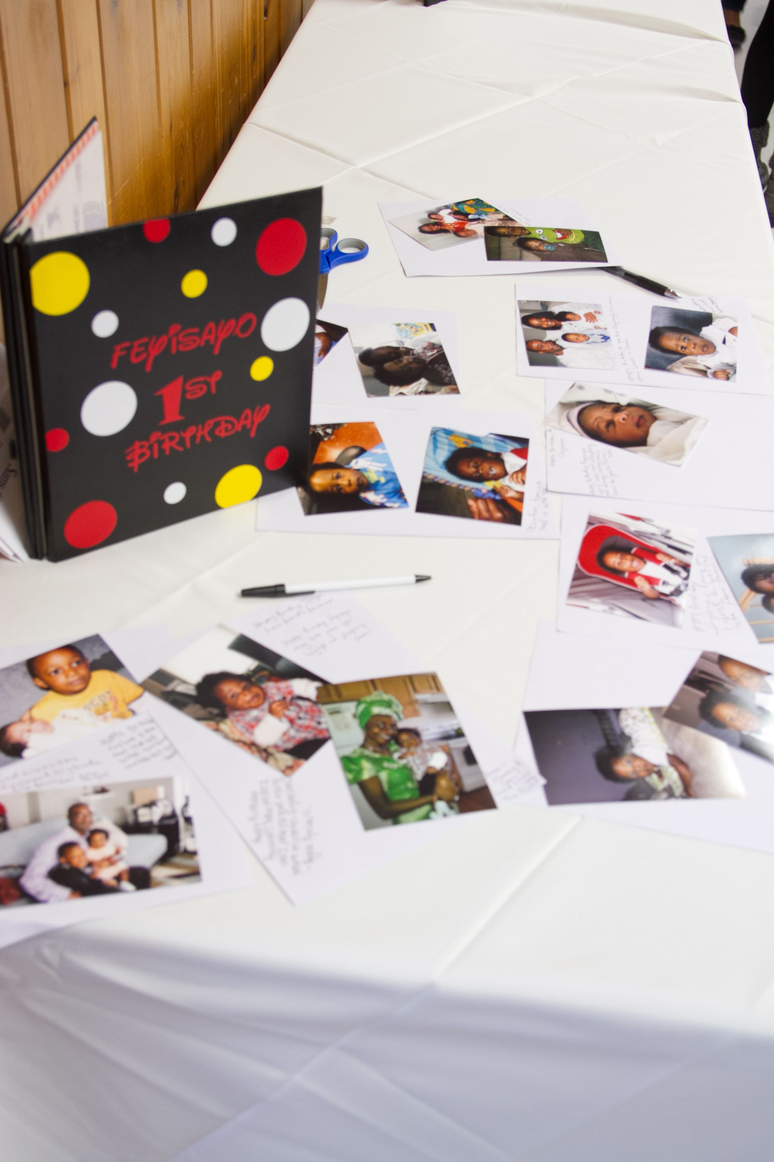 Mickey Mouse Guestbook