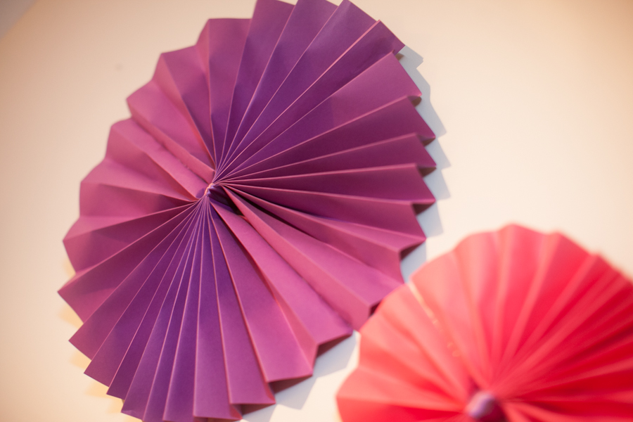 Purple bridal shower DIY