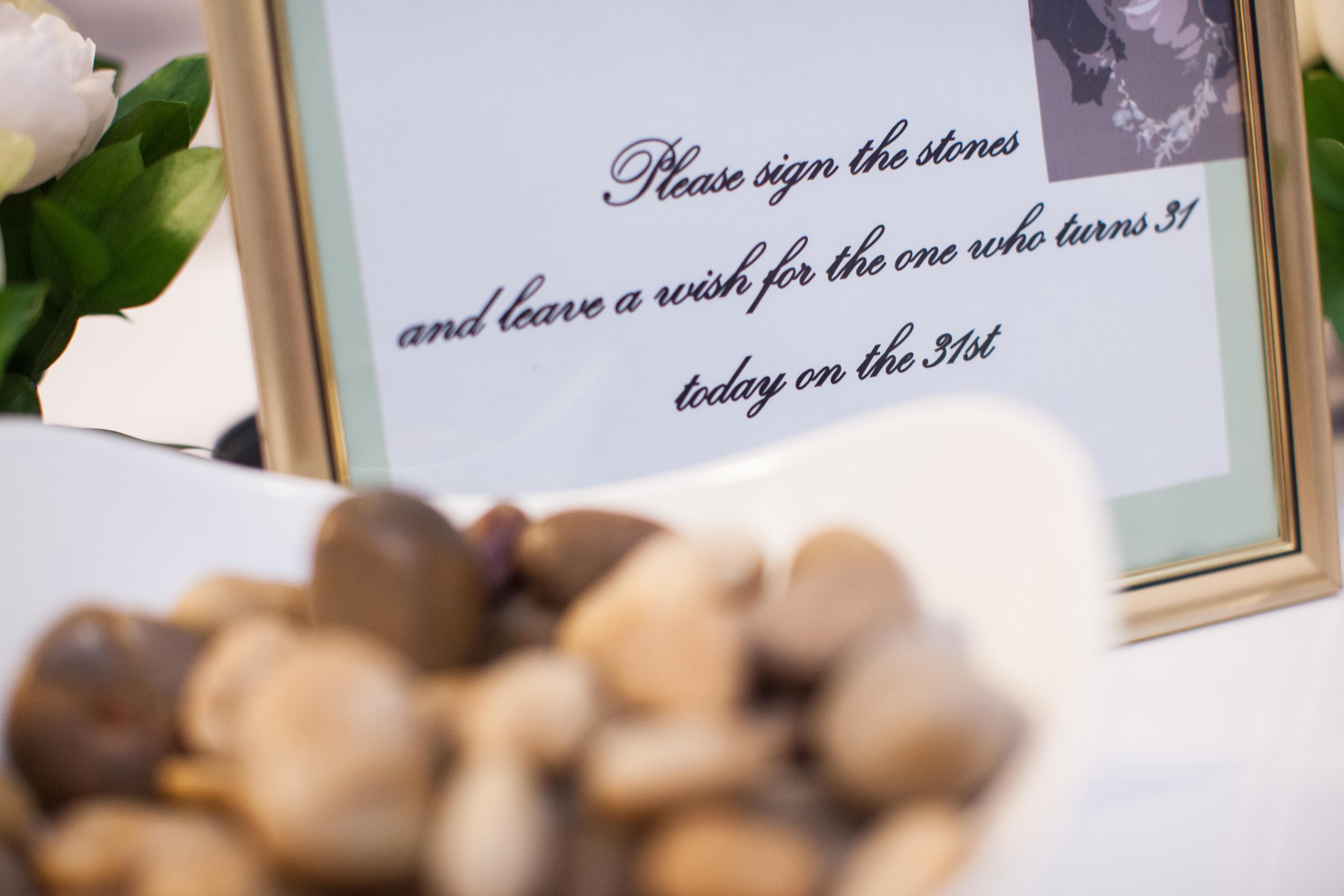 stone guestbook