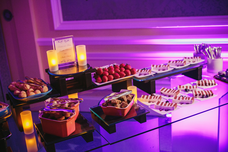 Wedding dessert station