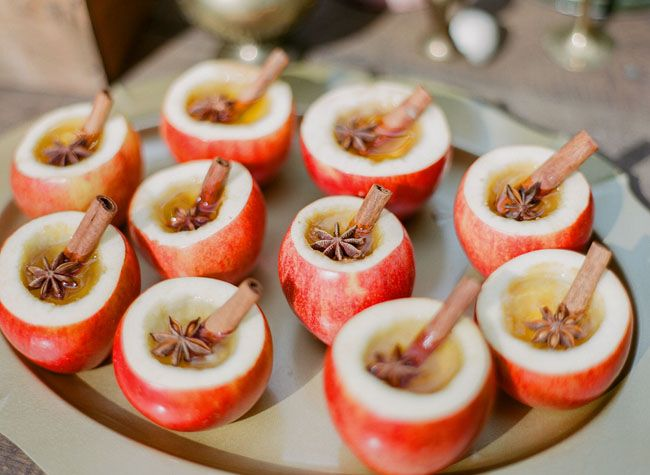 wedding apple cider