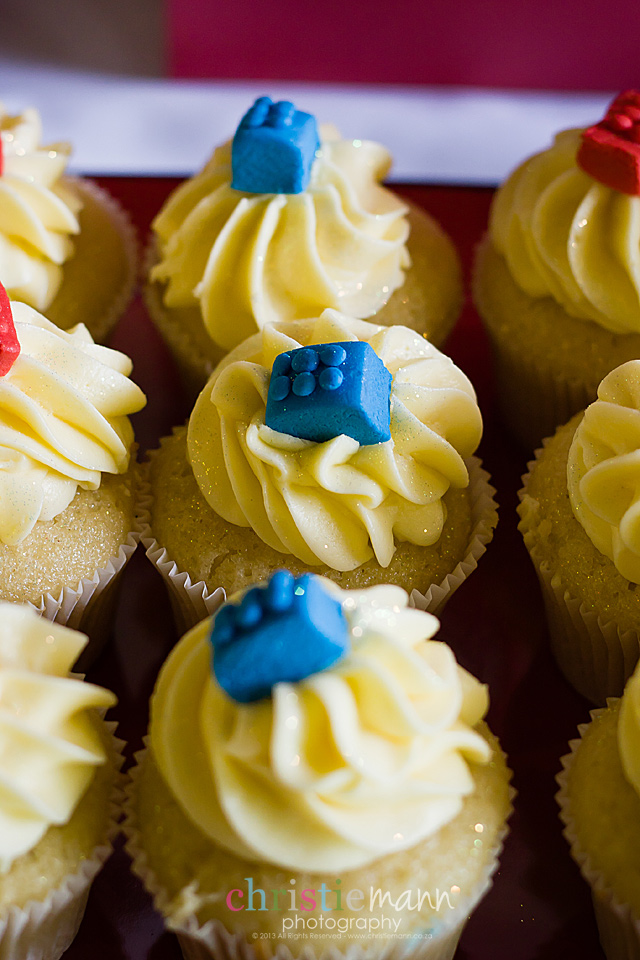 lego themed cupcakes