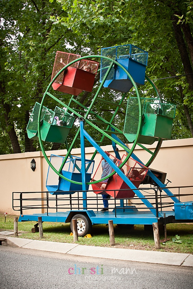 Ferris wheel childrens party