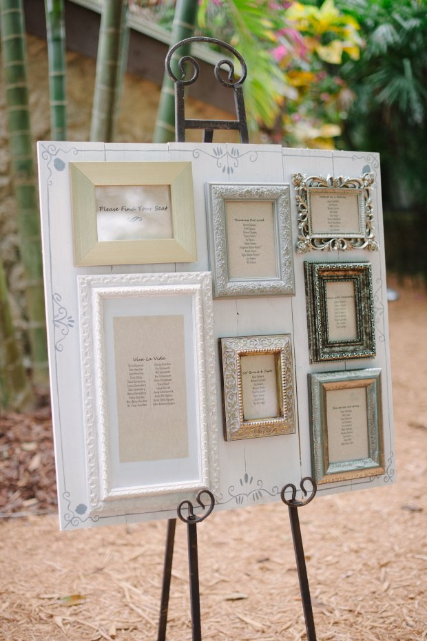 escort card frames